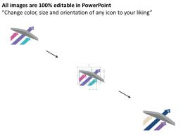 three_progressive_arrows_one_crossing_through_flat_powerpoint_design_Slide02