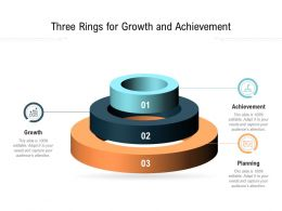 Three Rings For Growth And Achievement