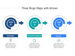 Three Rings Steps With Arrows