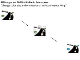 37734211 Style Essentials 1 Roadmap 3 Piece Powerpoint Presentation Diagram Infographic Slide