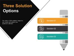 Three Solution Options Ppt Images Gallery