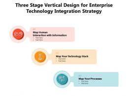 Three Stage Vertical Design For Enterprise Technology Integration Strategy