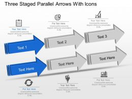 three_staged_parallel_arrows_with_icons_powerpoint_template_slide_Slide01