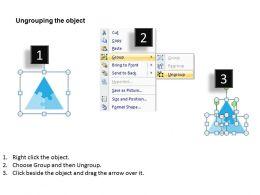 Three Staged Puzzle Diagram 0214