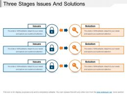 Three Stages Issues And Solutions