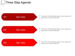 Three Step Agenda