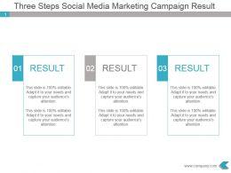 three_steps_social_media_marketing_campaign_result_ppt_slide_Slide01