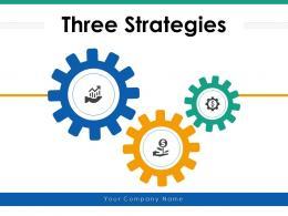Three Strategies Communication Business Goal Enterprise Effectiveness Services Growth