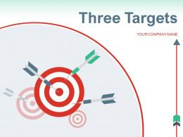 Three Targets Arrow Development Inventory Strategies Marketing Infographic Awareness Promotion