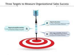 Three Targets To Measure Organizational Sales Success
