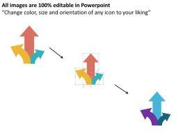 three_way_arrow_for_option_representation_flat_powerpoint_design_Slide02