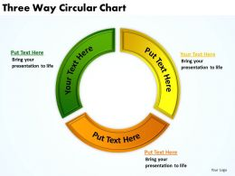 Three Way Circular Chart 33