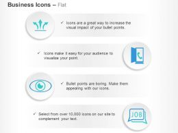 three_way_process_arrows_call_option_job_search_ppt_icons_graphics_Slide01