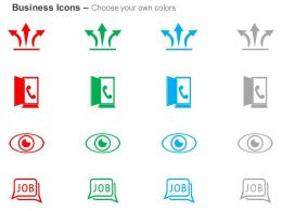 three_way_process_arrows_call_option_job_search_ppt_icons_graphics_Slide02
