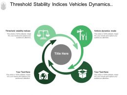 Threshold Stability Indices Vehicles Dynamics Model Summing Point
