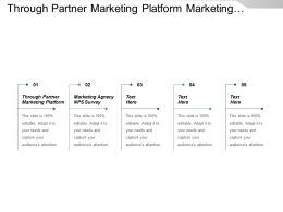 Through Partner Marketing Platform Marketing Agency Nps Survey Cpb