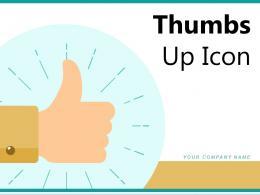 Thumbs Up Icon Social Media Circle Square Circular Arrows Satisfaction Megaphone