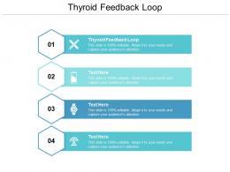 Thyroid Feedback Loop Ppt Powerpoint Presentation File Deck Cpb