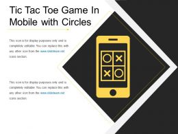 Tic Tac Toe Game In Mobile With Circles