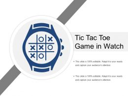 Tic Tac Toe Game In Watch