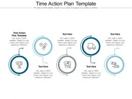 Time Action Plan Template Ppt Powerpoint Presentation Slides Gallery Cpb