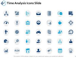 Time Analysis Icons Slide Team Ppt Powerpoint Presentation Inspiration Icon