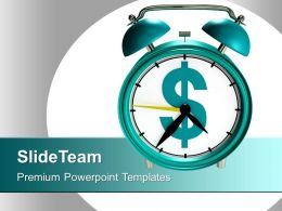 Time And Money Business Concept Powerpoint Templates Ppt Themes And Graphics 0313
