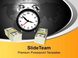 Time And Money Business Powerpoint Templates Ppt Themes And Graphics 0113