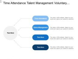 Time Attendance Talent Management Voluntary Benefits Actionable Analytics