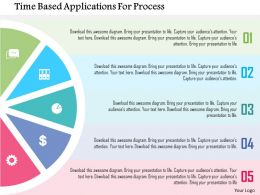 Time Based Applications For Process Flat Powerpoint Design