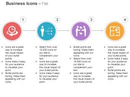 Time Based Cycle Network Business Deal Record Ppt Icons Graphics