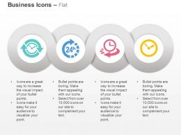 Time Based Process Daily Time Management Ppt Icons Graphics