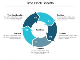 Time Clock Benefits Ppt Powerpoint Presentation Professional Background Image Cpb