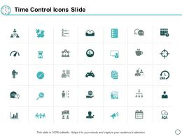 Time Control Icons Slide Measurement Management Ppt Powerpoint Presentation Inspiration Backgrounds