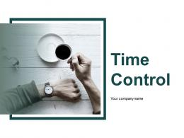Time Control Powerpoint Presentation Slides
