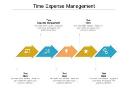 Time Expense Management Ppt Powerpoint Presentation Layouts Graphics Cpb