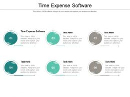 Time Expense Software Ppt Powerpoint Presentation Model Slide Download Cpb