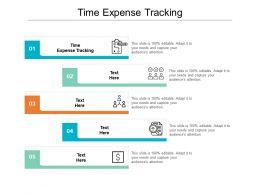 Time Expense Tracking Ppt Powerpoint Presentation Portfolio Tips Cpb