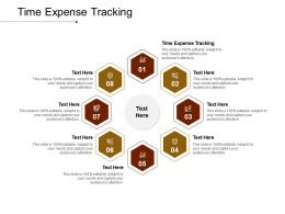 Time Expense Tracking Ppt Powerpoint Presentation Show Designs Cpb