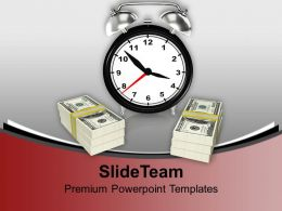 Time Is Money Business Concept Powerpoint Templates Ppt Backgrounds For Slides 0113