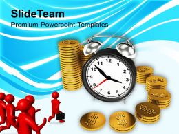 Time Is Money Concept Finance Powerpoint Templates PPT Themes And Graphics 0113