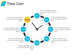 Time Line Good Ppt Example