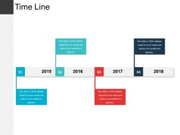 Time Line Powerpoint Slide Deck Template