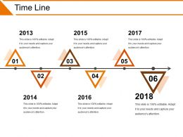Time Line Powerpoint Slide Rules