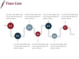 Time Line Powerpoint Slides Templates