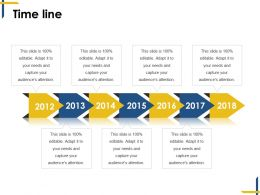 time line ppt background