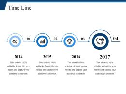 Time Line Ppt Deck