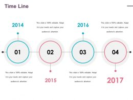 Time Line Ppt Gallery Show