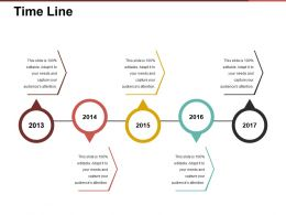 Time Line Ppt Infographics