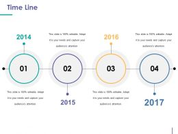 Time Line Ppt Samples Download